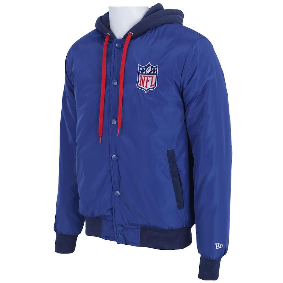 ... Jaqueta College com Capuz New Era NFL Fabric Mix - Masculina ... 1f71a0084fc12
