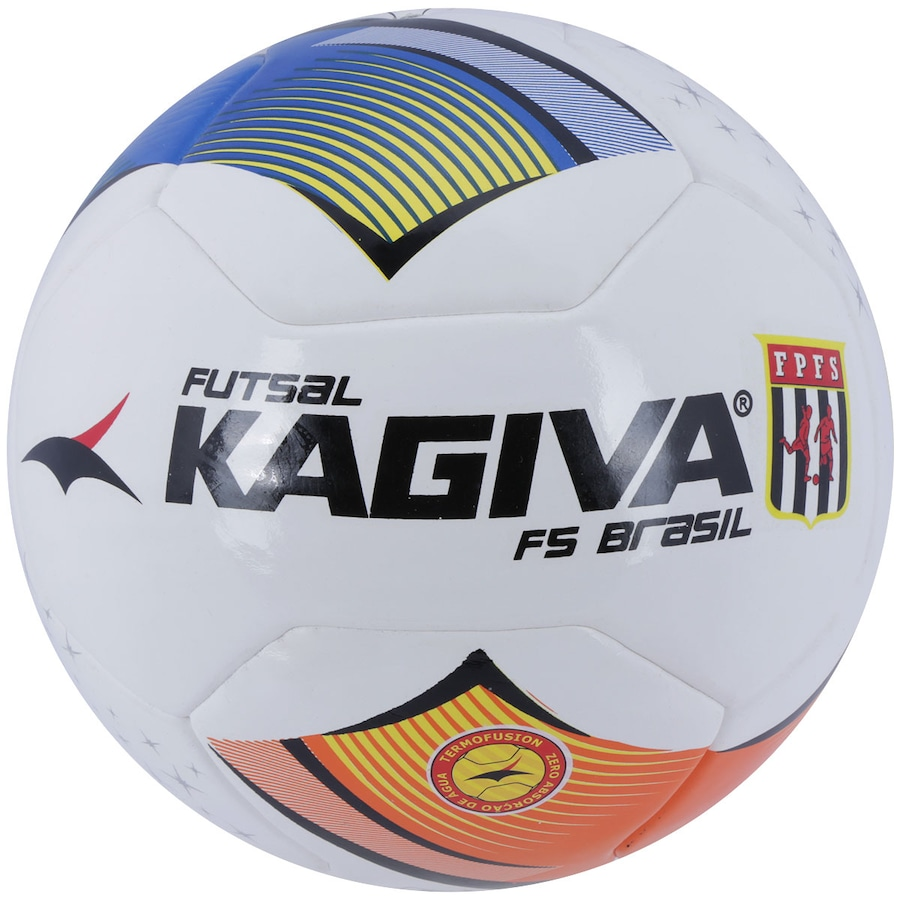 32f6a84adcb23 Bola de Futsal Kagiva F5 Brasil