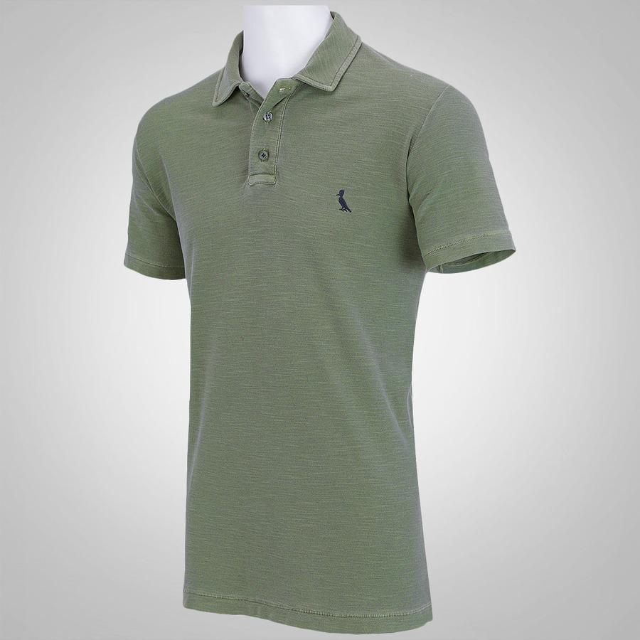 Camisa Polo Reserva Básica Piquet Flame - Masculina 9797aa02c5819