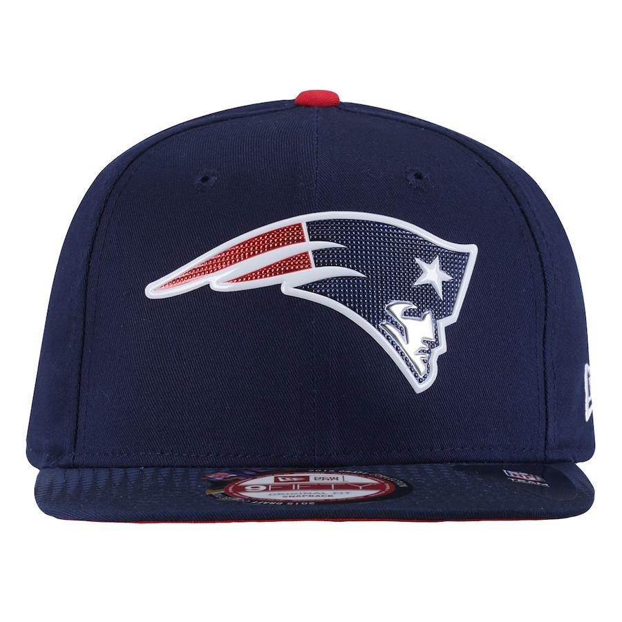 Boné Aba Reta New Era New England Patriots Mascote Snapback 1df30d13dac