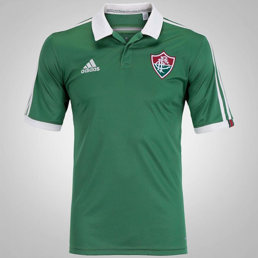 Camisa do Fluminense III 2015 s nº adidas - Masculina 799b02942516a