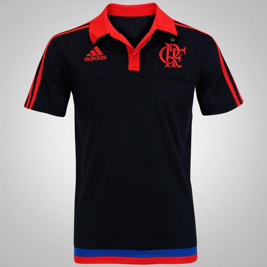 3f60823844 Camisa Polo do Flamengo de Viagem adidas