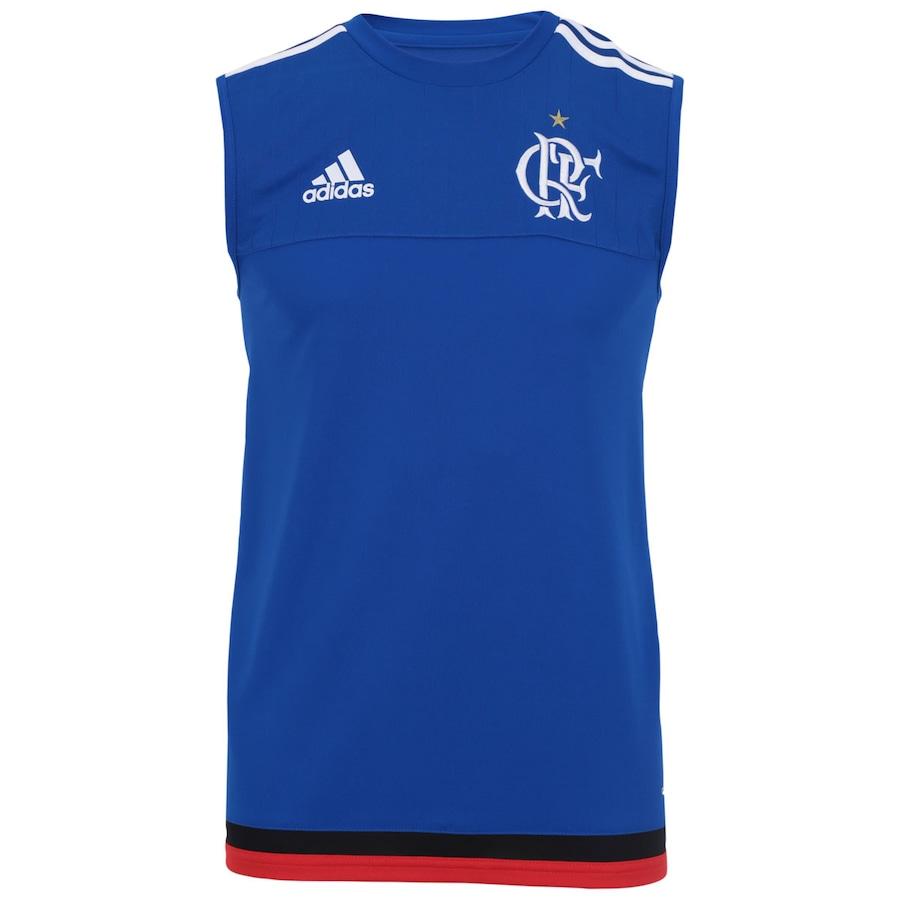 6afbd2a2725d0 Camiseta Regata de Treino do Flamengo 2015 adidas