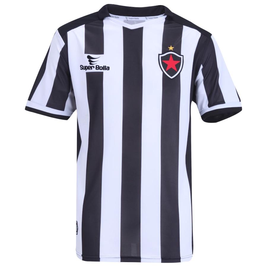 785ffba4f4 Camisa do Botafogo de Paraíba I 2014 nº 10 Super Bolla