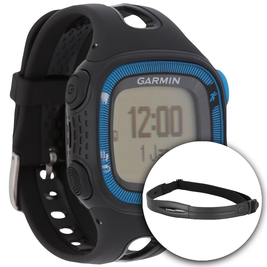 3b42b23bd32 Monitor Cardíaco com GPS Garmin Forerunner 15