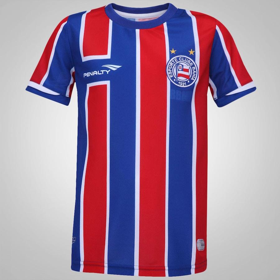 Camisa do Bahia II 2015 s nº Penalty Infantil b5607bcc8069d