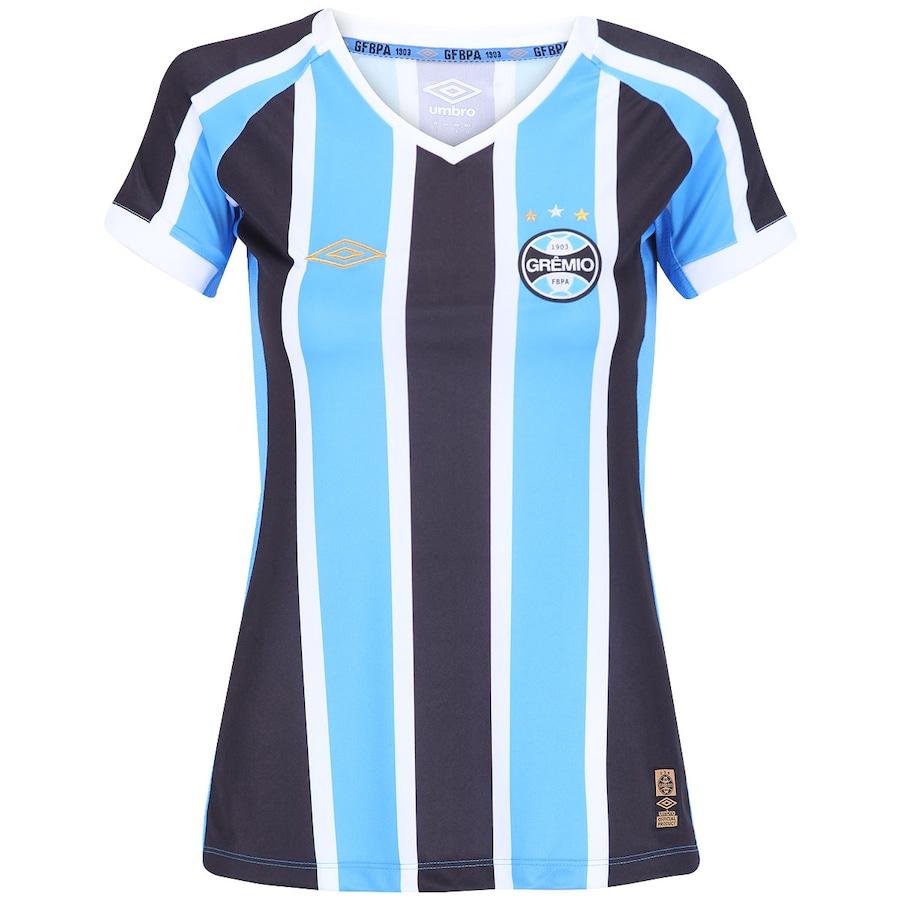 3cd21ef92bb5a Camisa do Grêmio I 2015 s nº Umbro Feminina