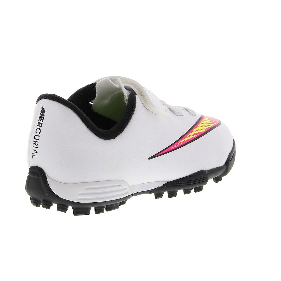 46a40bbe5d Chuteira Society Nike Mercurial Vortex II Velcro - Infantil