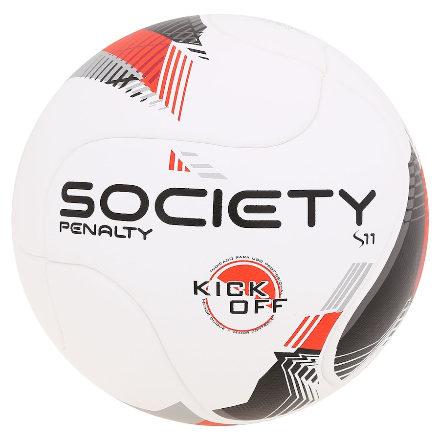 f477895524 Bola de Futebol Society Penalty S11 R1 Kick Off V