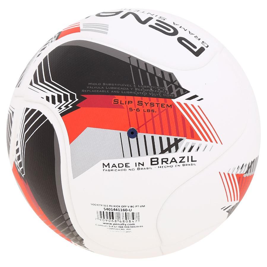 Bola de Futebol Society Penalty S11 R1 Kick Off V f592df3a7f955