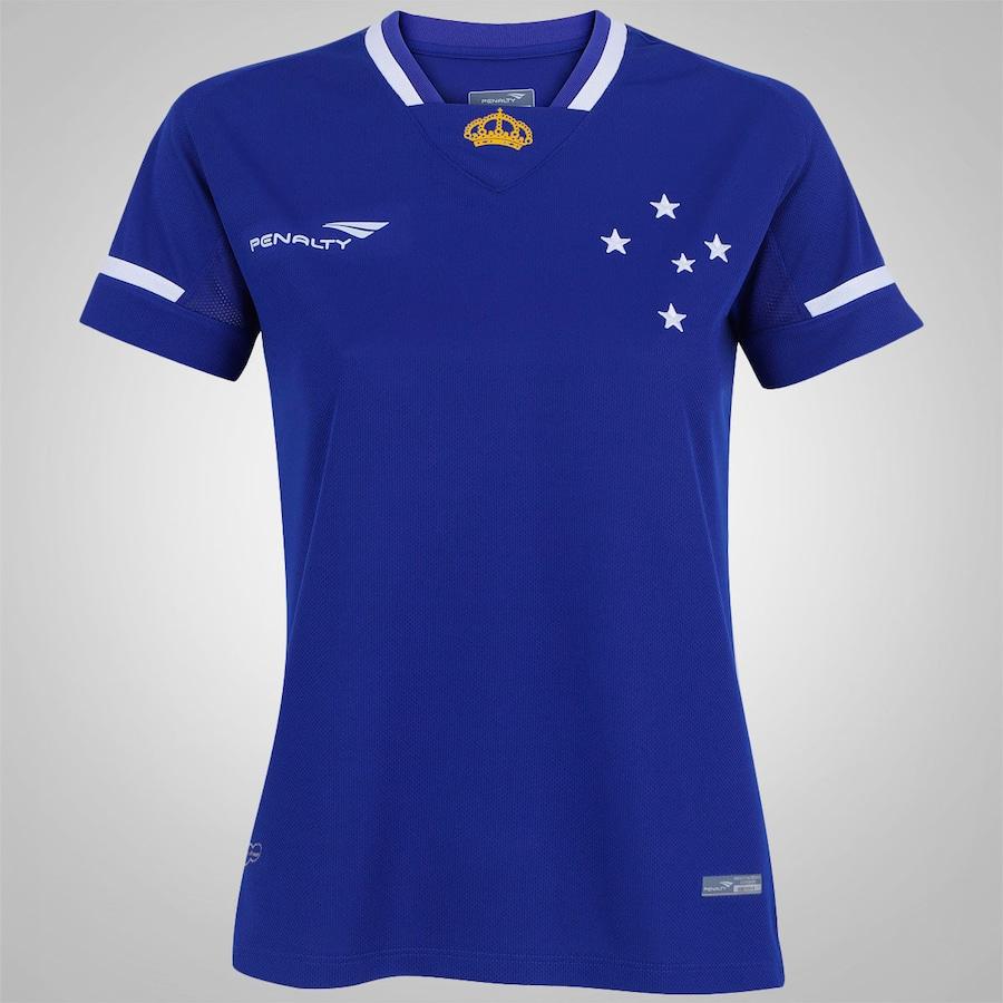a1be8f73b79a8 Camisa do Cruzeiro I 2015 s nº Penalty - Feminina
