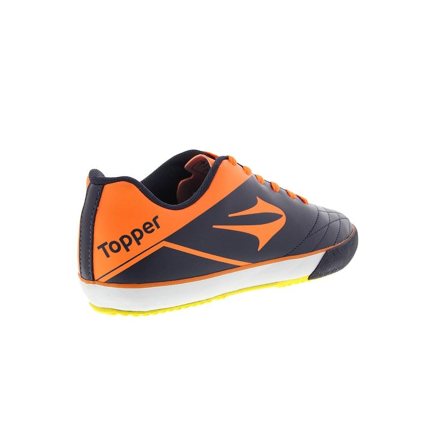 Chuteira de Futsal Topper Frontier VII IN 40a25a3720e9a