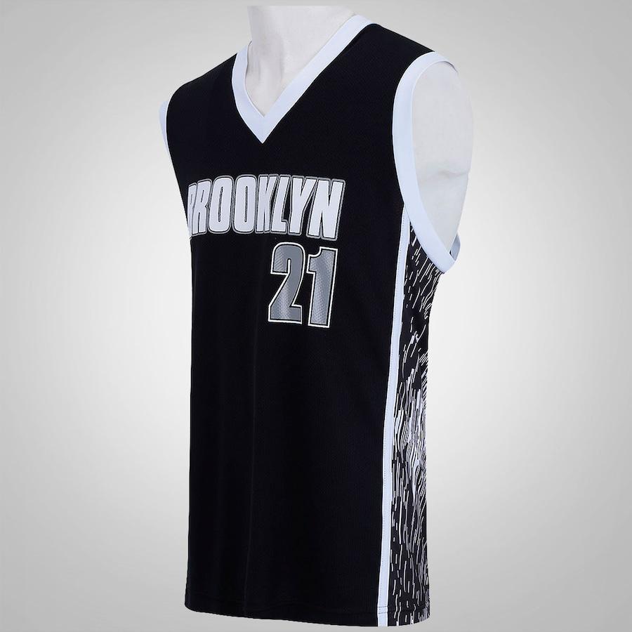 76191ca33 ... Camiseta Regata Brooklyn Nº 21 – Masculina ...