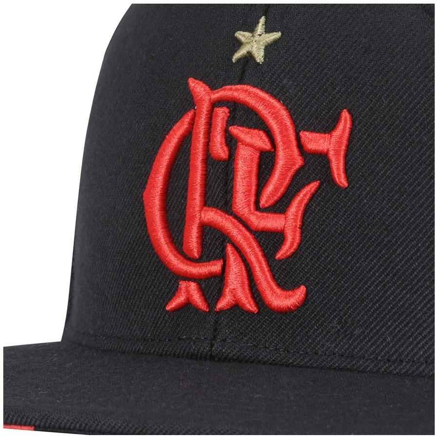 Boné Aba Reta adidas Flamengo Hino 2015 - Snapback - Adulto 51c64a2b541