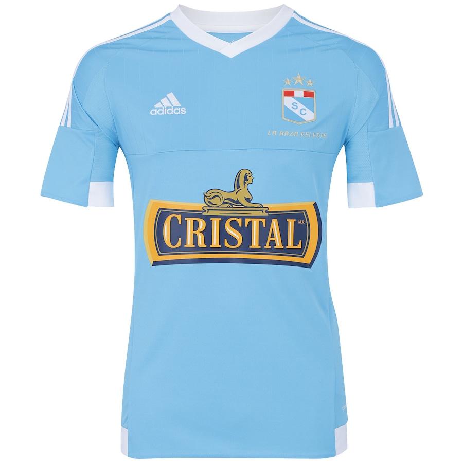 Camisa do Sporting Crystal I 15 16 adidas 651b951e818de