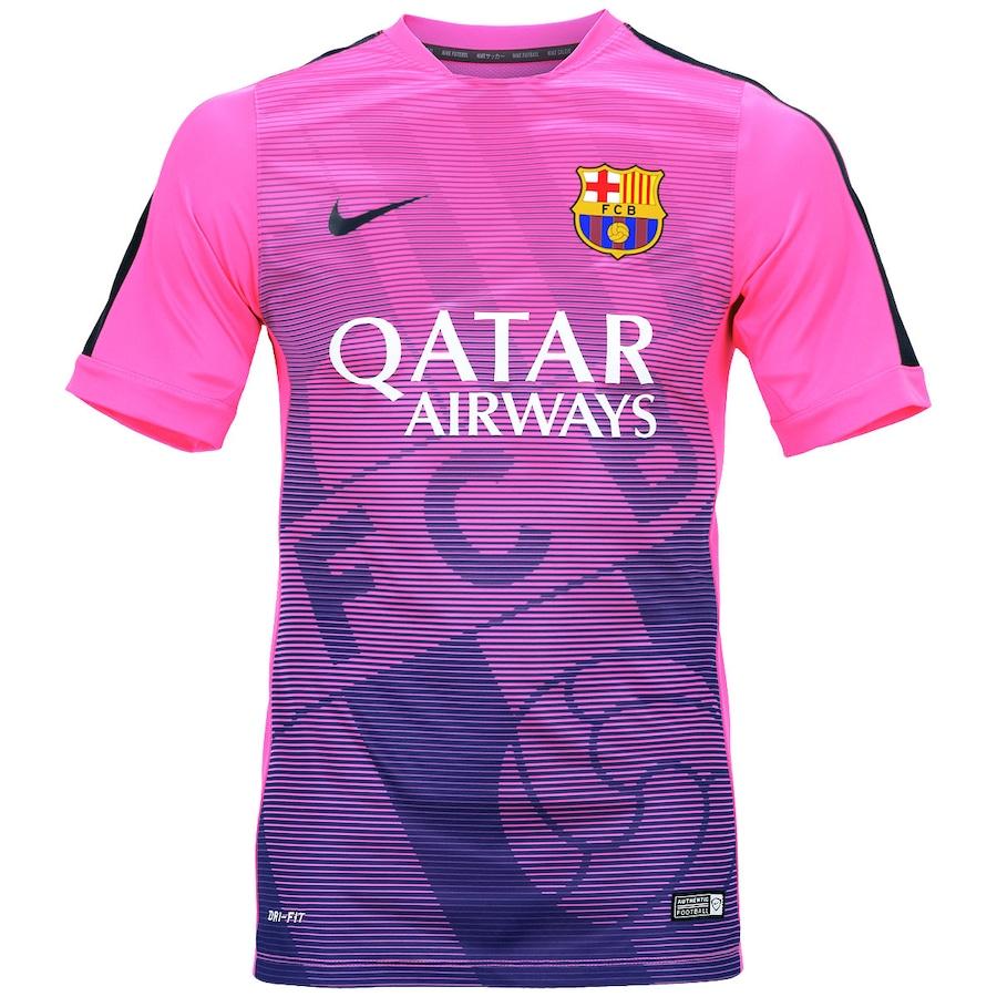 Camisa de Treino do Barcelona Nike 8764fd73cc4