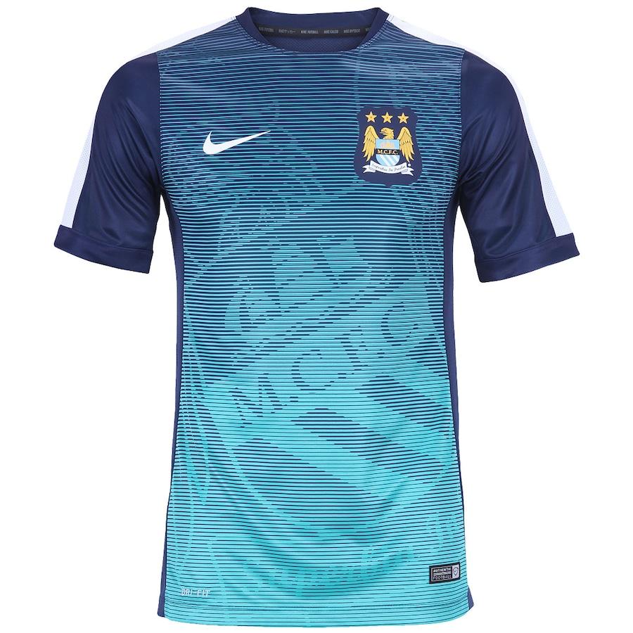 38f9936eaf1dc Camisa Manchester City M.C.F.C de Treino Nike - Masculina