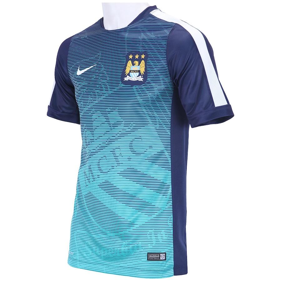 b64af4809c Camisa Manchester City M.C.F.C de Treino Nike - Masculina