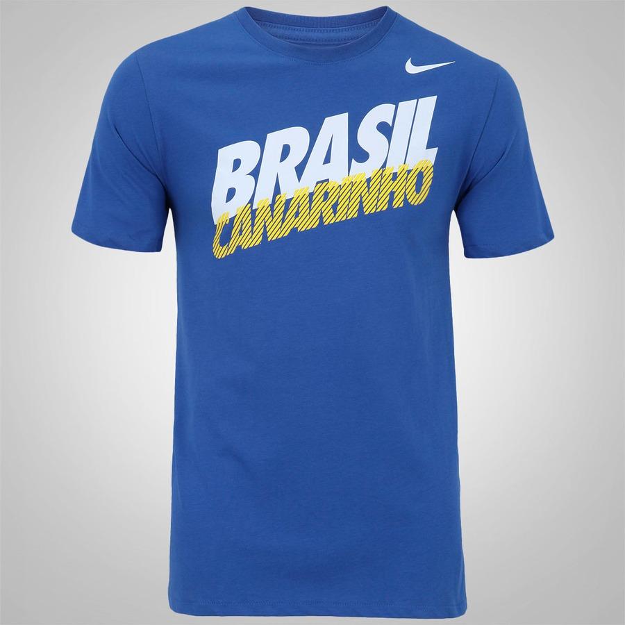 9ea4f415f6f Camiseta Nike CBF Core Type Masculina