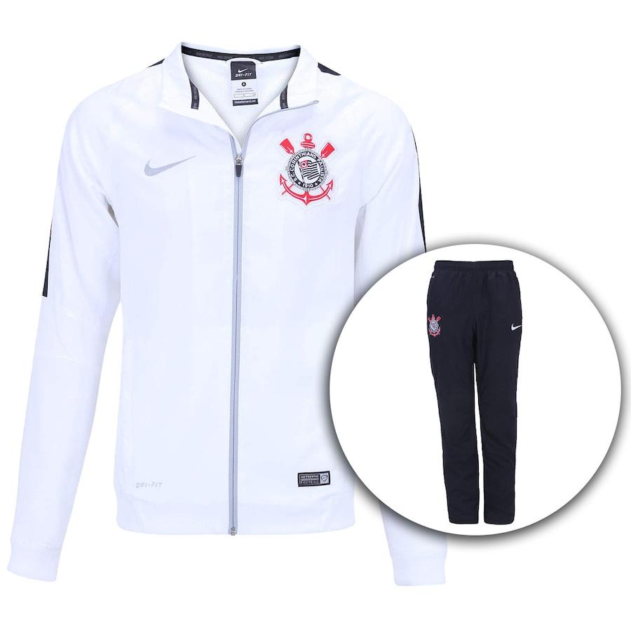Agasalho de Treino do Corinthians Nike Masculino aa3b75219c784