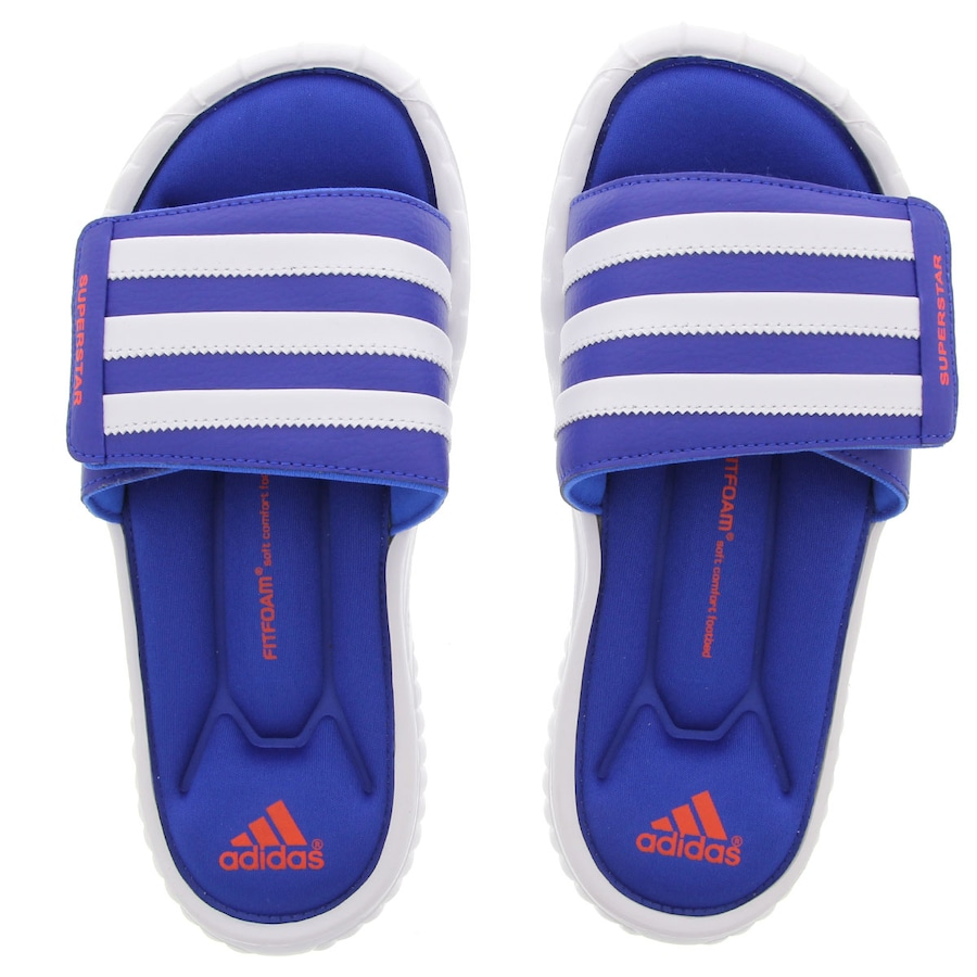 buy online 53377 f3d3f Chinelo Adidas Star 3G Slide Masculino