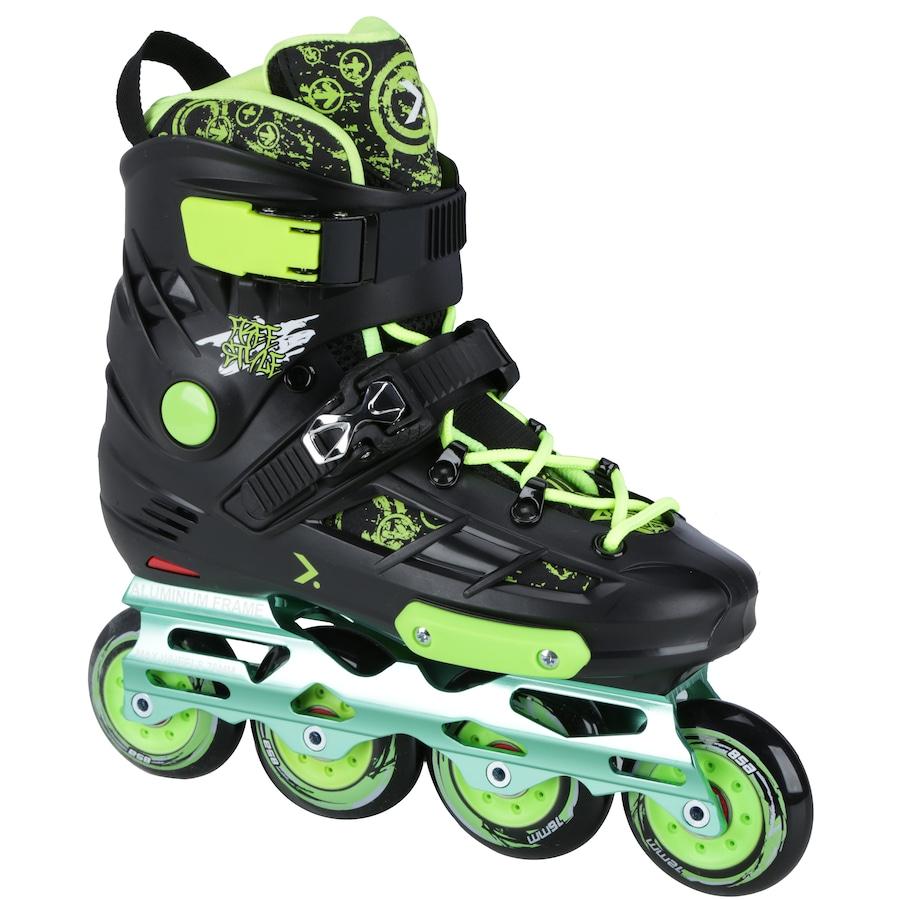 904be1cdf24 ... Patins Oxer Freestyle - In Line - Freestyle   Slalom - ABEC 9 - Base de.  Imagem ampliada  Passe o mouse para ver a imagem ampliada