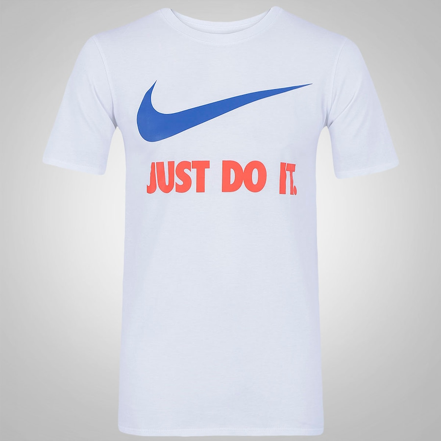 b45928ccf8c3b Camiseta Nike New Just Do It - Masculina