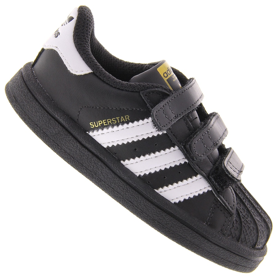 4211d375c Tênis adidas Originals Superstar Foundation CF - Infantil