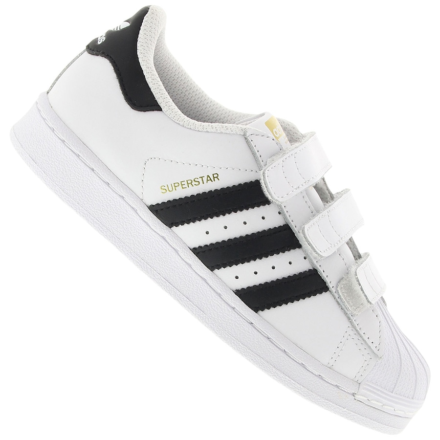 Tênis adidas Superstar Foundation CF Infantil