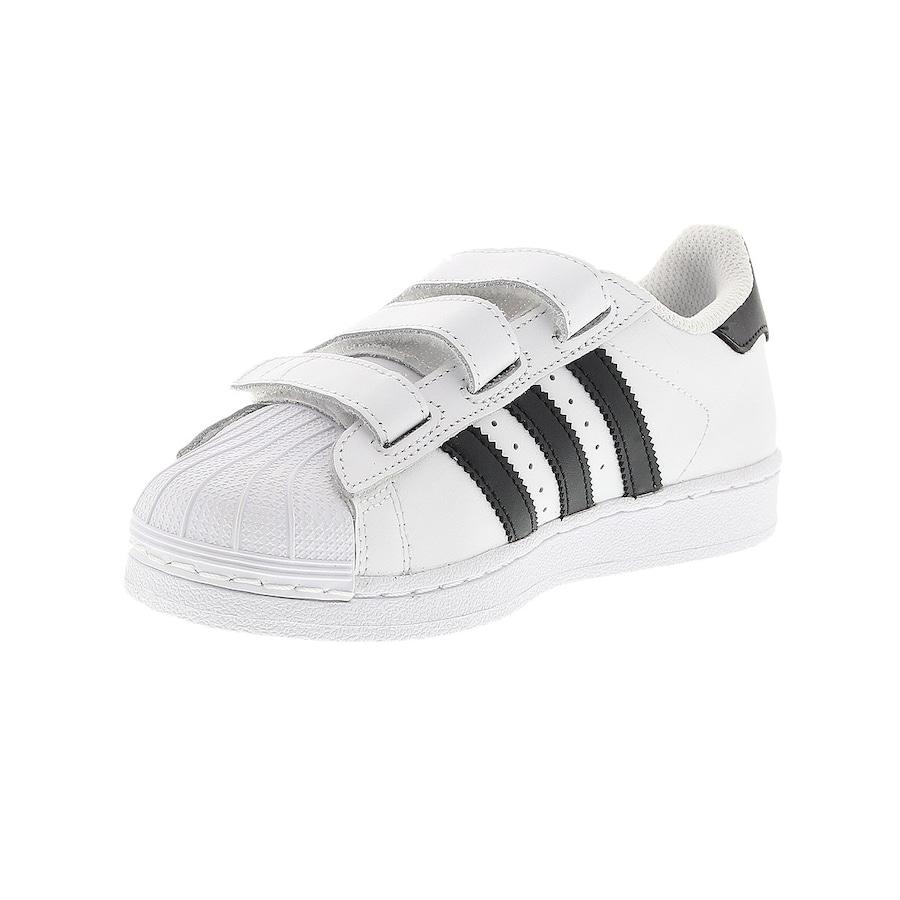 Tênis adidas Superstar Foundation CF - Infantil f835de7314cbd