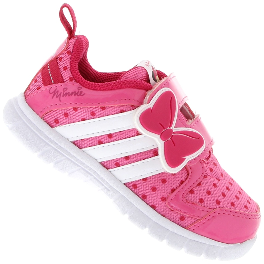 35e36f1bd62 Tênis Adidas Disney Minnie CF Feminino Infantil