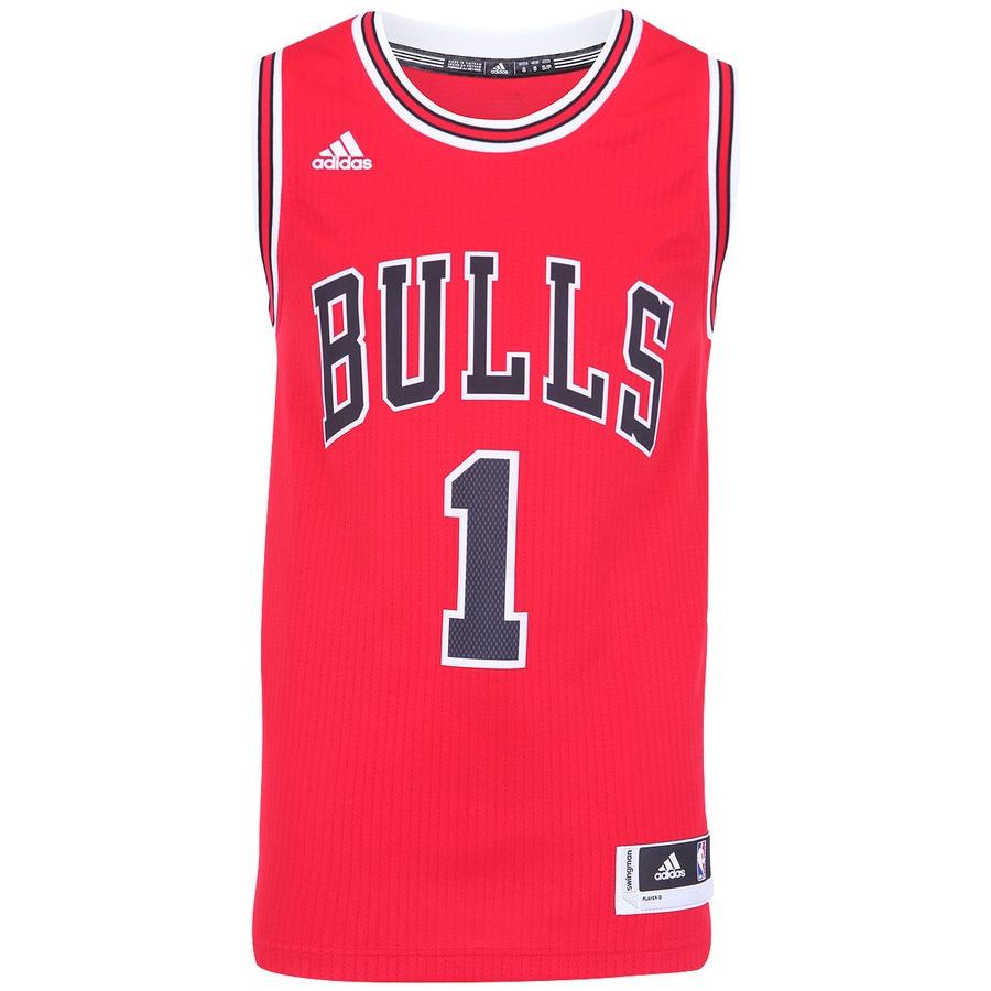 98dc80ca78d2b Camiseta Regata Adidas Swingman Chicago Bulls