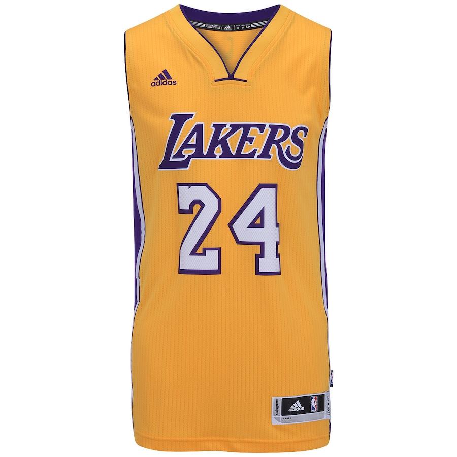 09651496a5 Camiseta Regata Adidas Swingman Los Angeles Lakers Mascul