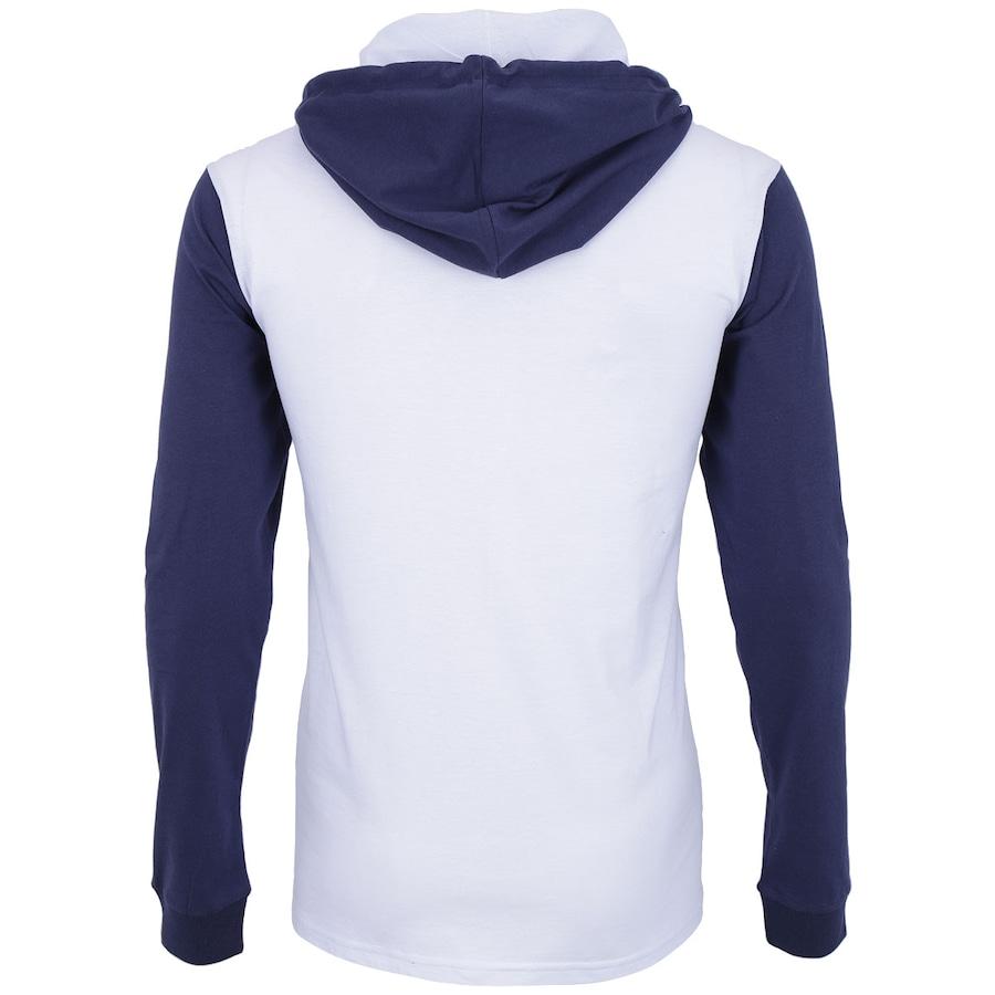 aec3a515c3681 ... Camiseta Manga Longa com Capuz Hurley Raglan Destroy – Masculina ...