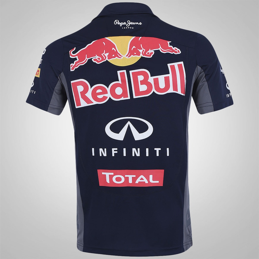 9836c622cd Camisa Polo Red Bull Racing Funcion Teamwear - Masculina
