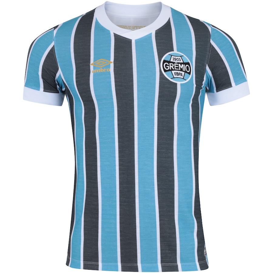 fccf77dd5a2fe Camisa do Grêmio Retrô 1983 nº 7 Umbro - Masculina