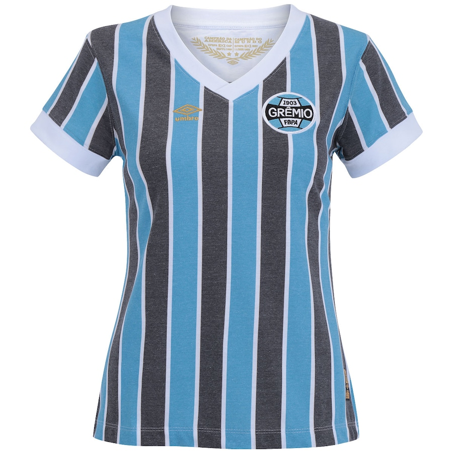 Camisa Retrô do Grêmio 1983 Umbro Feminina aafcc5c172bcf