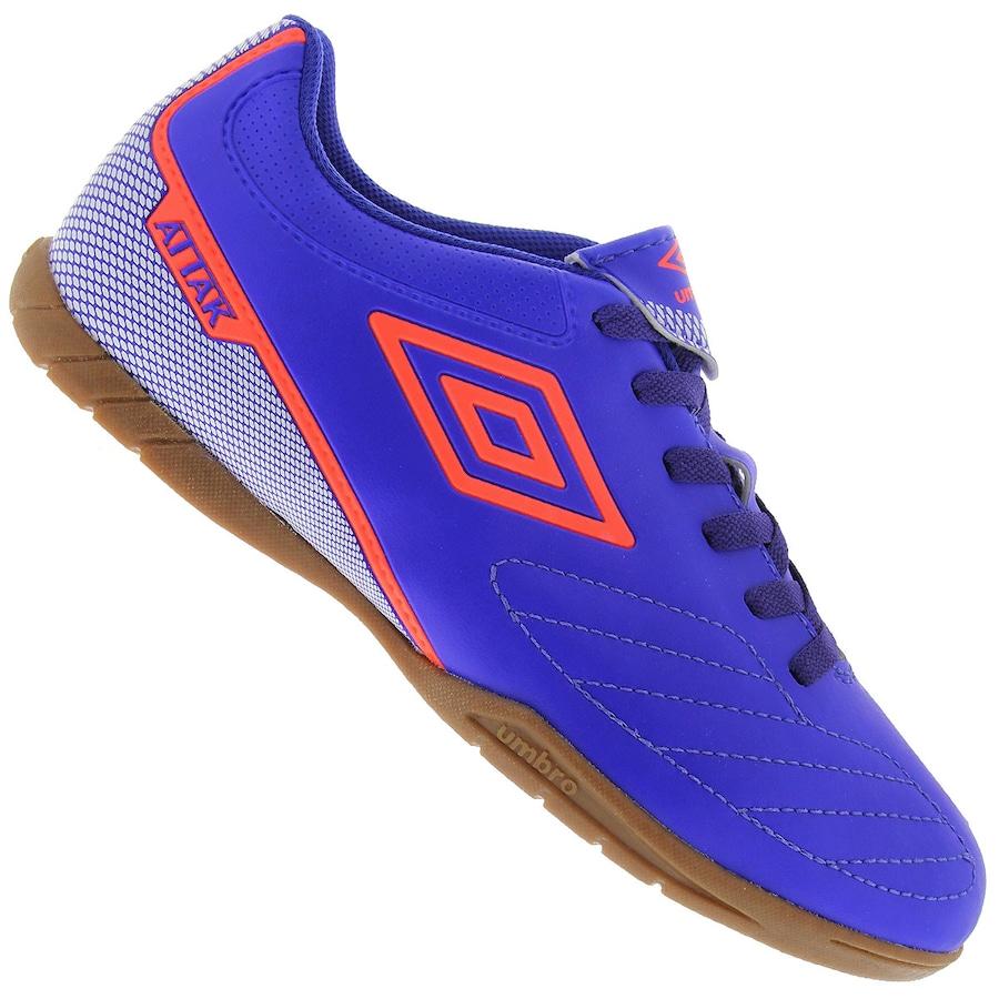 Chuteira Futsal Umbro Attak II - Adulto fc64718bbc725