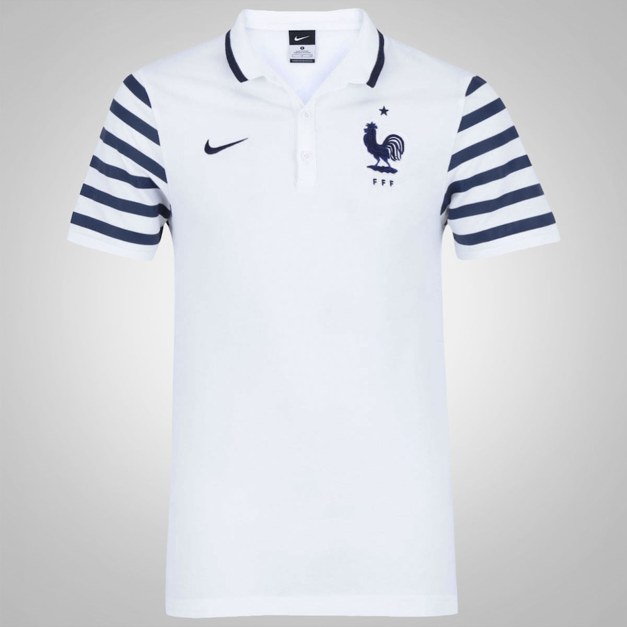 48d1a5e23ba75 Camisa Polo da França Nike Auth Masculina