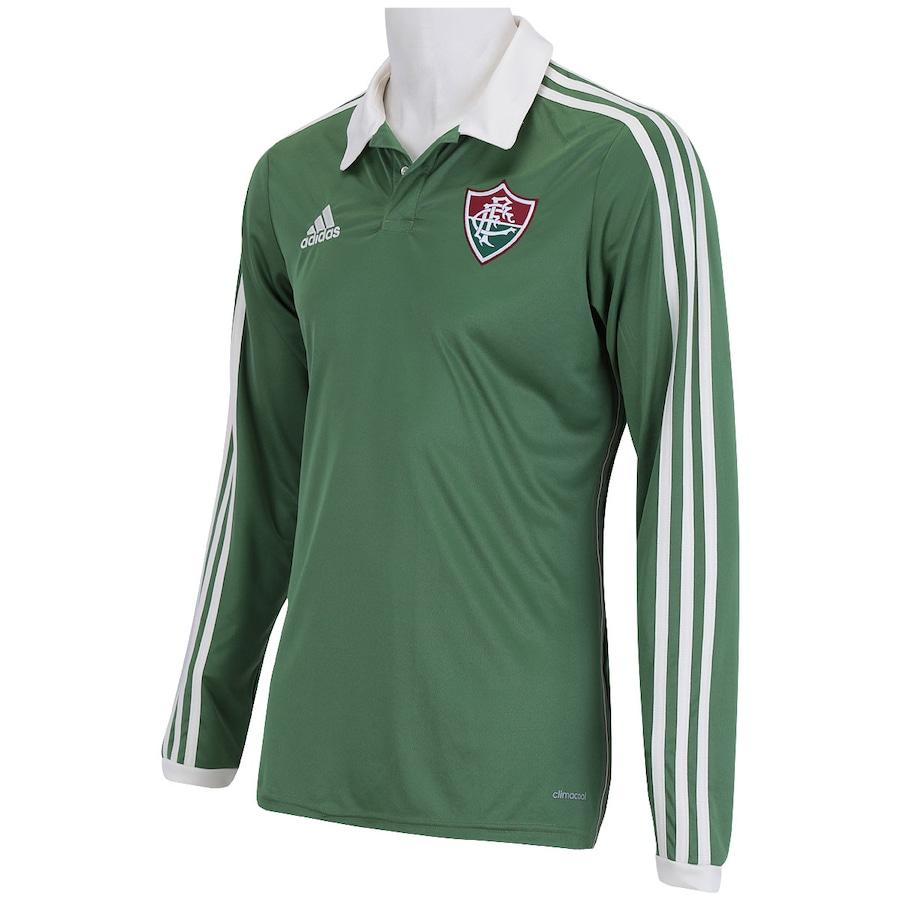 Camisa Manga Longa Fluminense III adidas 2015 89837a36cbc5d