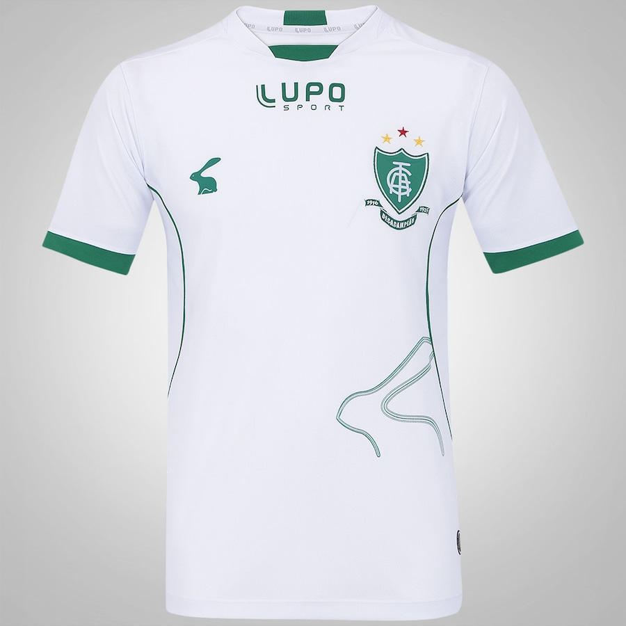 Camisa do América Mineiro II 2015 c n° Lupo 3dedd9aaa1286