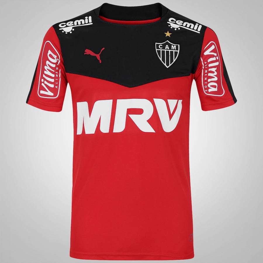 ea49f1f052 Camisa de Goleiro do Atlético Mineiro III 2015 nº1 Puma
