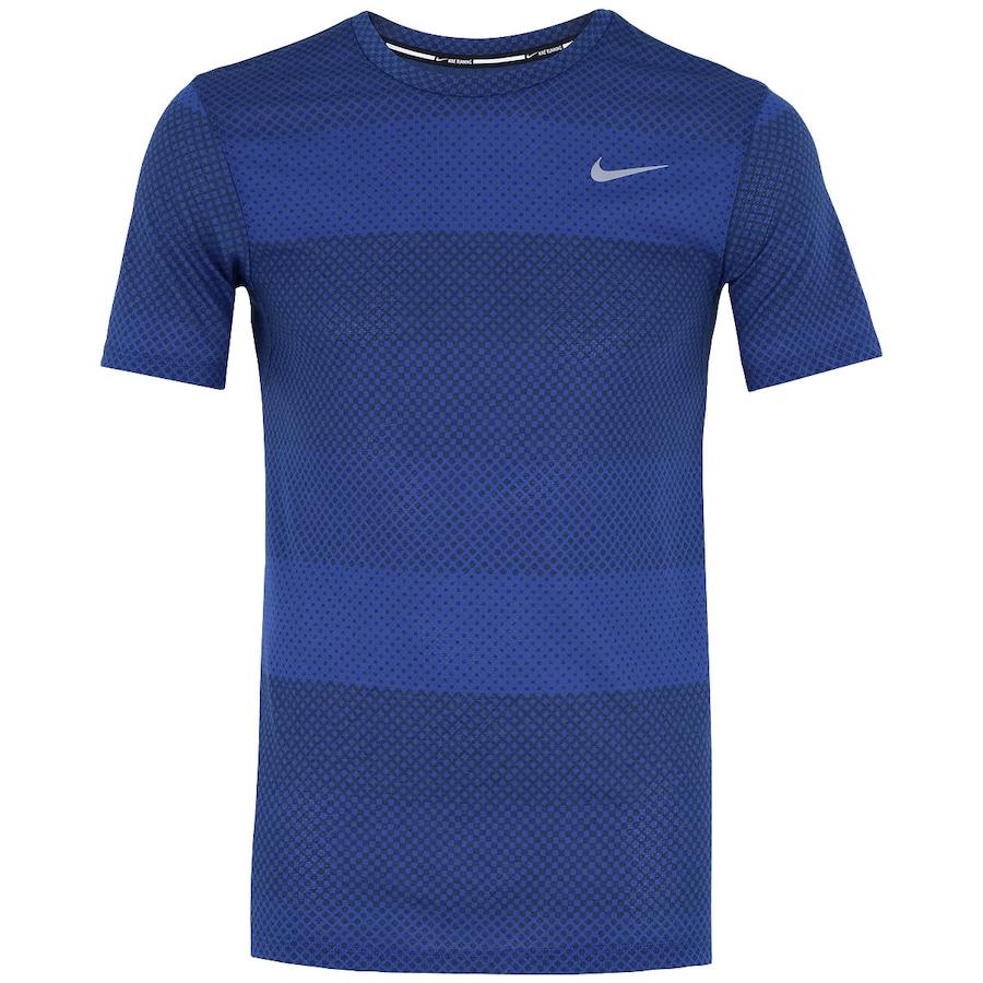 5d3e748d59bee Camiseta Nike Cool Stripe Tailwind Crew Masculina