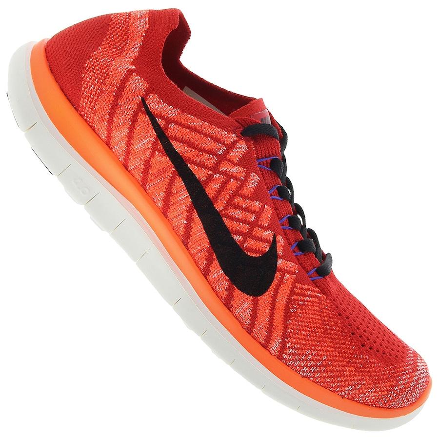 16020228f6f90 Tênis Nike Free 4.0 Flyknit – Masculino