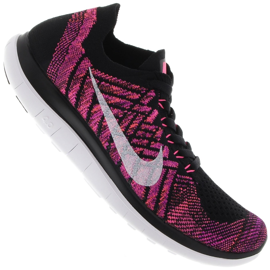 a794a6bb5c4ce Tênis Nike Free 4.0 Flyknit Feminino