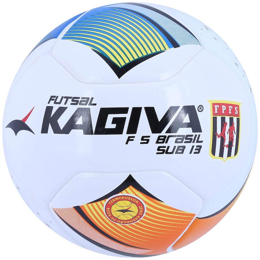 Bola de Futsal Kagiva F5 Brasil Sub 13 0d7bc4468cd8a