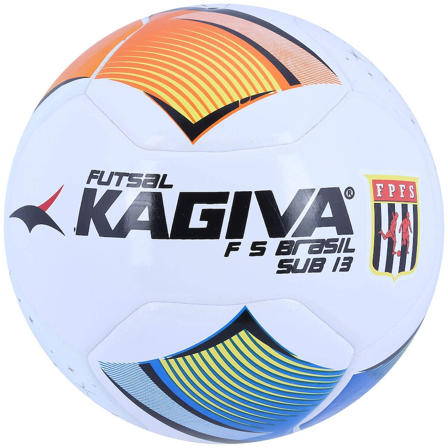 Bola de Futsal Kagiva F5 Brasil Sub 13 5f90628f64313