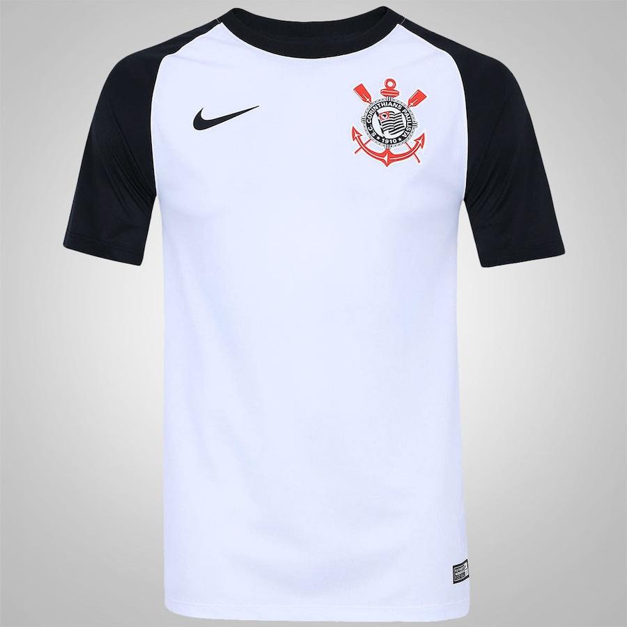 Camisa do Corinthians I 2016 Torcedor Nike - Masculina 5d17750155728