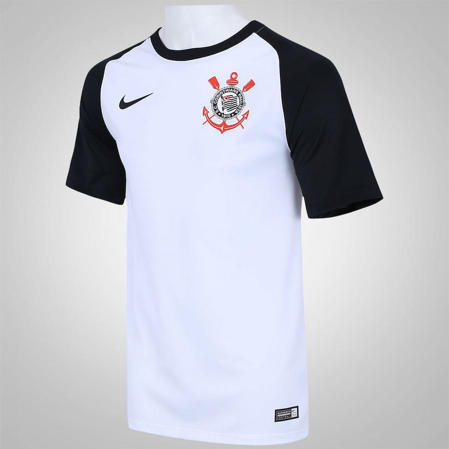 Camisa do Corinthians I 2016 Torcedor Nike - Masculina 3faa70dd27a03
