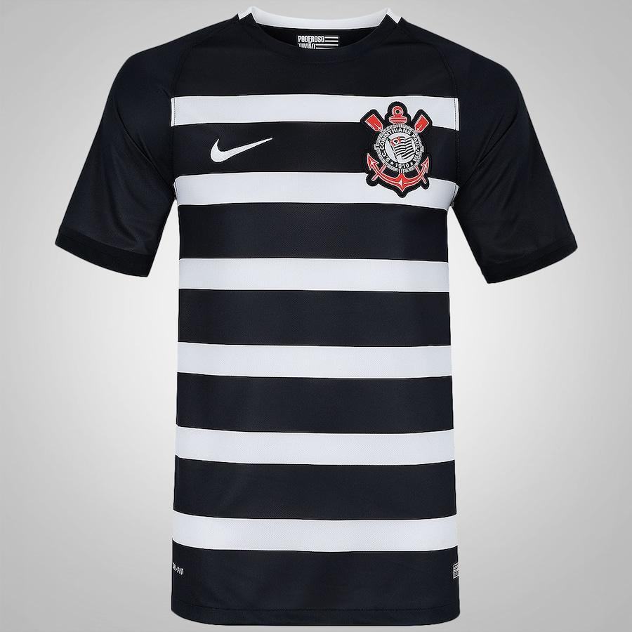 4d88ee43d Camisa do Corinthians II 2015 Nike - Torcedor - Masculina